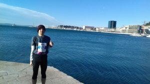 pred polumaraton, Split