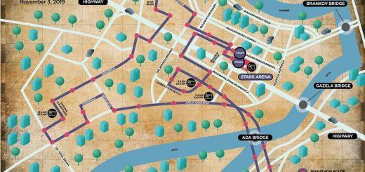 trasa 1 serbia marathona